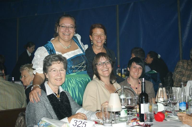 Illustre Gäste am Apéro und am Gala-Abend